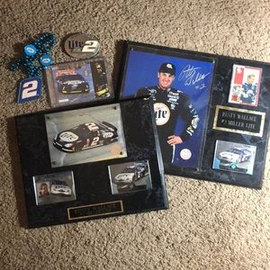 NASCAR collection Rusty Wallace #2.. Autographed